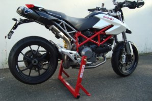 abba Bike Stand on Ducati Hypermotard 1100