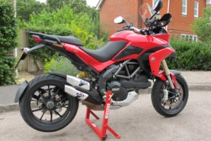 abba Superbike Stand on Ducati Multistrada 1200