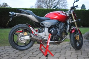 abba Bike Stand on Honda Hornet