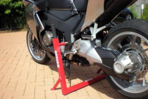 abba Superbike Stand on Honda VFR1200