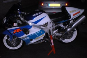 abba Superbike Stand on Suzuki TL1000