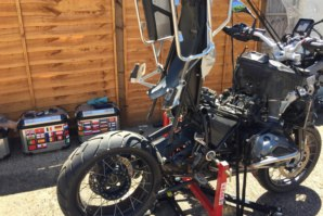 abba Sky Lift beung used to work on BMW R1200GS