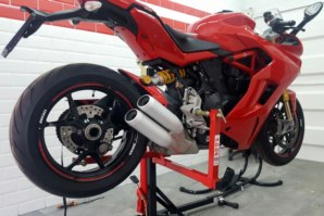 Ducati Supersport S on abba Sky Lift