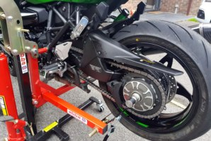 Kawasaki H2 on abba Sky Lift - close up