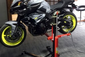 Yamaha MT10 on abba Sky Lift