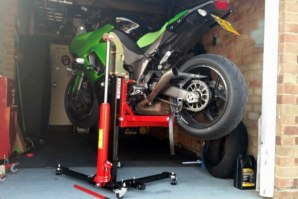 abba Sky Lift fitted to Kawasaki Z1000SX